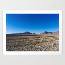Salvador Dalí Desert, Bolivia Art Print