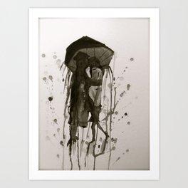 Feel Your Rain  Art Print