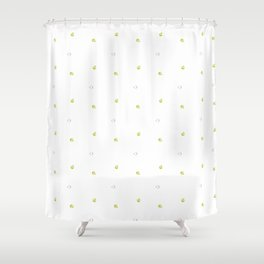 Quince Pattern Shower Curtain