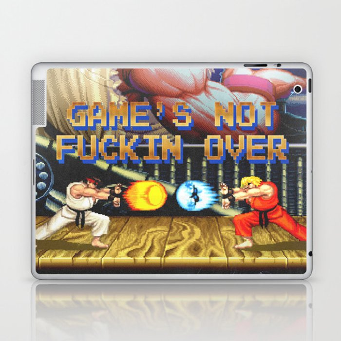 GAME'S NOT FUCKIN OVER! pt. 1 Laptop & iPad Skin