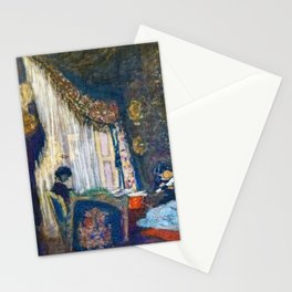 Mrs. Hessel At Her Window - Digital Remastered Edition Stationery Cards