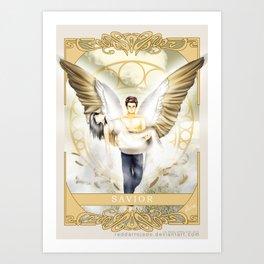 Wings of Faith : Savior Art Print