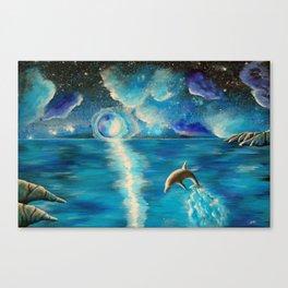 Water Dance Canvas Print
