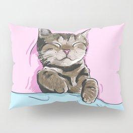 Sleeping Cat Pillow Sham