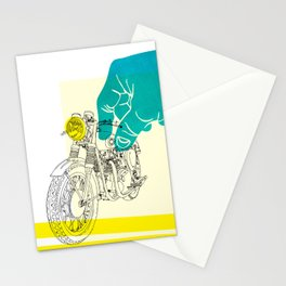 Vintage BSA Super Rocket Motorcycle Art Print Stationery Cards