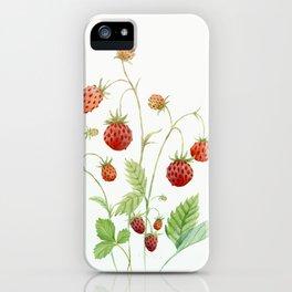 Wild Strawberries iPhone Case