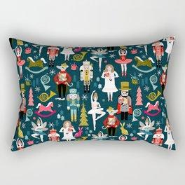 Nutcracker Ballet by Andrea Lauren  Rectangular Pillow