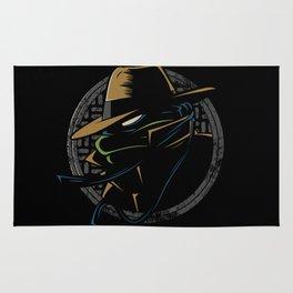 Undercover Ninja Leo Rug