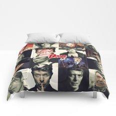 Bowie Faces Comforters