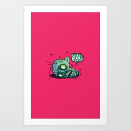 BLARG! Art Print