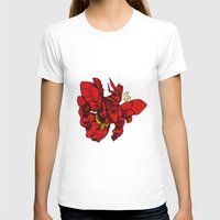 gundam T-shirts featuring Sazabi Ver HA by frikkinmunki