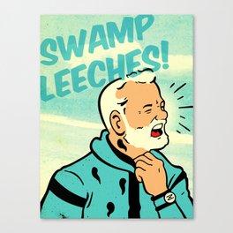 Swamp Leeches! Canvas Print