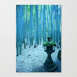 Hōkoku-ji Bamboo Forest, Kamakura Japan Canvas Print