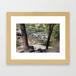 Kern River Framed Art Print