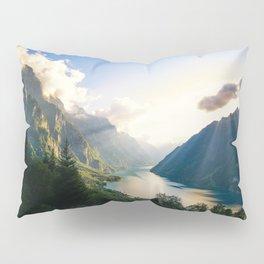 Swiss Alps Pillow Sham