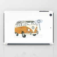 volkswagen iPad Cases featuring Volkswagen by Valesca van Waveren