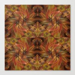 Autumn Twirled Canvas Print