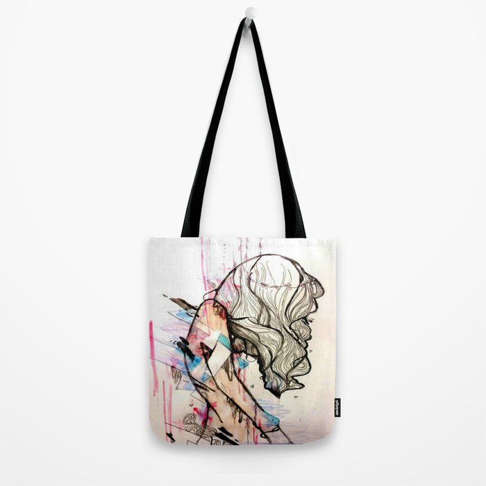 Collapsing Structures Tote Bag
