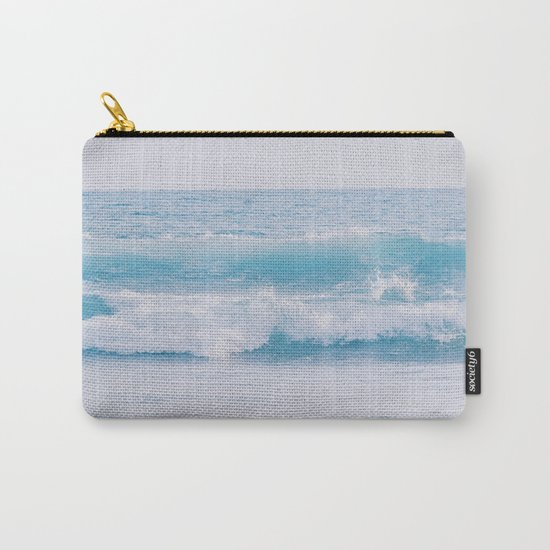Pastel Ocean #waves Carry-All Pouch