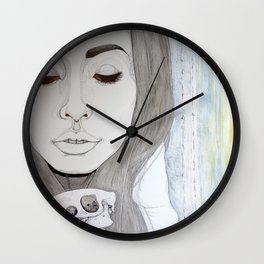 We remain embarrassed to be human Wall Clock