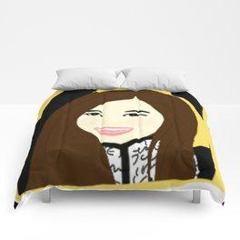 Knock Knock! Tzuyu Yellow Comforters