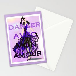 Dancing With My Love Stationery Cards