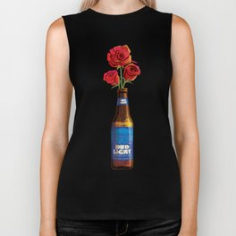 Dudes Love Roses (Blue) Biker Tank