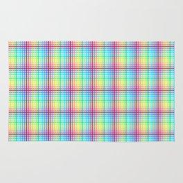 rainbow chess Rug