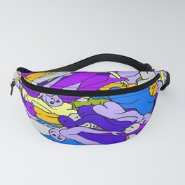 Sleeping Bodies - Ultraviolet Infusion Fanny Pack