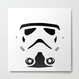 Star Wars Clone / Clon de La Guerra de las Galaxias Metal Print