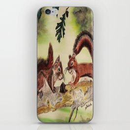 """""""I'm Nuts For You"""" iPhone Skin"""