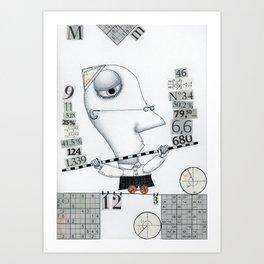 The Mathematician Art Print