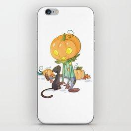 Little jack-o'-lantern iPhone Skin