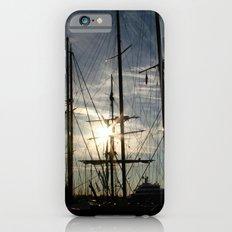sailboat on the sunrise iPhone 6s Slim Case
