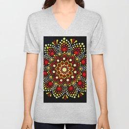Autumn Mandala Unisex V-Neck