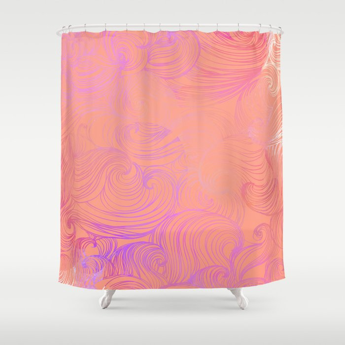 Free Flow V1 Shower Curtain