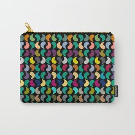 Seamless Colorful Geometric Shapes Pattern Carry-All Pouch