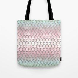 Pretty Mermaid Scales 19 Tote Bag