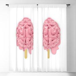Popsicle brain melting Blackout Curtain