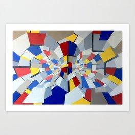 Quantum Reactor Art Print