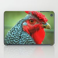 rooster iPad Cases featuring Rooster by Nichole B.