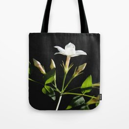 Close Up Of Jasminum Officinale Tote Bag