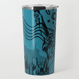New York City Stamp Travel Mug