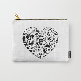 Halloween Heart Carry-All Pouch