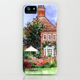 The Manor House iPhone Case