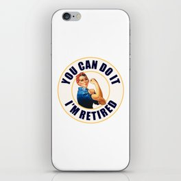 Retired Rosie the Riveter iPhone Skin