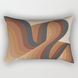 Cosmic Waves Rectangular Pillow