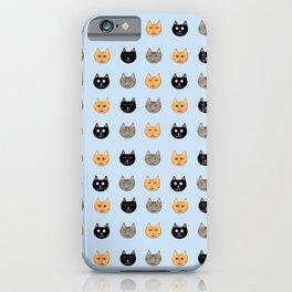 Cat Faces iPhone Case