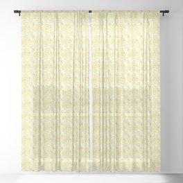 Mini Impressions: DAFFODIL STUDY 2 Sheer Curtain