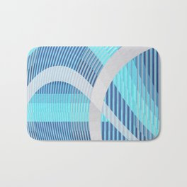 Resonance (blue-aqua) Bath Mat